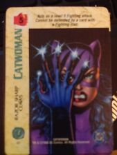 DC Overpower Catwoman Razor Sharp Claws NrMint-Mint Card
