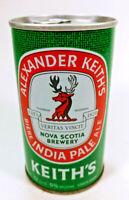 Vintage Alexander Keith's India Pale Ale IPA Steel Beer Can Nova Scotia Canada