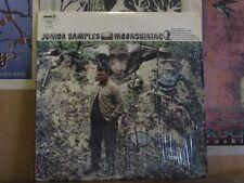 JUNIOR SAMPLES, MOONSHINING - LP JS-6113