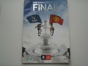CRYSTAL PALACE V MANCHESTER UNITED 2016  F.A. CUP FINAL AT WEMBLEY