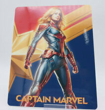 CAPTAIN MARVEL - Glossy Fridge / Bluray Steelbook Magnet Cover (NOT LENTICULAR)