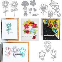 Hollow Flower Cutting Dies Stencil Scrapbooking Paper Card Embossing Crafts DIY