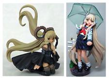 Kaiyodo Chobits Sammlung Figur Anime Ver. Black Chii & Regenschirm Chii Set