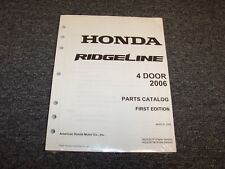 2006 Honda Ridgeline Pickup Truck Parts Catalog Manual RT RTS RTL 3.5L V6