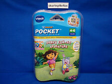 VTech V.Smile Pocket NICKELODEON: DORA THE EXPLORER FIX-IT ADVENTURE Game NEW