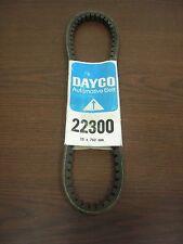 Dayco 22300 Belt  Fits Auburn 1927-28 /  Buick 120 & 128,1928 / OAKLAND 1919-23