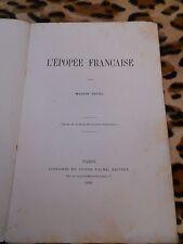 L'épopée française - Marius Sépet - Palmé, 1868 - signé