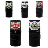 Clown Skull Tube Bandana Scarf Head Face Mask Neck Snood Headwear HOT SALE