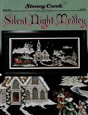Silent Night Medley by Stoney Creek BK481 cross stitch pattern