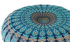 Indian Bohemian Mandala Meditation Yoga Floor Pillow Cushion, Throw Cover, Decor