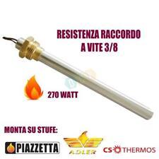 Candeletta Accensione Stufa a Pellet Raccordo 3/8 280W 150mm 140mm PIAZZETTA ADL