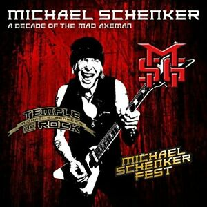 Michael Schenker-A Decade Of The Mad Axeman -2Cd- CD NEW