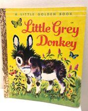 LGB  Little Golden Book SC FREE POST LITTLE GREY DONKEY Alice Lunt 1978 #129