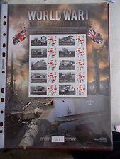 2016 World War I Landships, Churchill & Tanks - Ltd Edition Smiler Sheet of 500