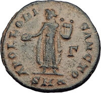310AD Anonymous Ancient PAGAN Roman Coin GREAT PERSECUTION of CHRISTIANS i64511