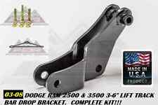 "US MADE TRACK BAR BRACKET 2.5-6"" LIFT FOR 03-08 DODGE RAM 2500 3500 4WD 4X4 AOR"