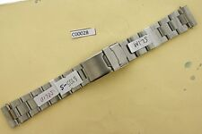 SEIKO SOLID OYSTER BRACELET 6105 8000 8110 WATCH SLIM TYPE SOLID LINKS #C00028