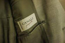 Canali Grey Three Button Blazer 38S