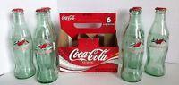 Coca Cola Class Of 2003 Graduation 6 Pack 8 oz Bottle with Carton Empty w Caps