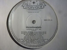 """Polydor Infromationsplatte 004 576, Eskens, Mina, Yovanna, The Shakers, LP, 12"""""""