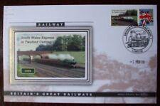 2009 Ltd Ed Benham Error Cover - GWR  South Wales Express In Twyford Cutting.