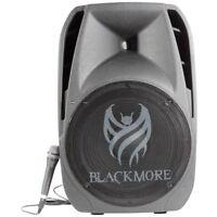 Blackmore Pro Audio BJS-155BT Amplified Pa Speaker 15in Spkr Woofer Bt Mp3