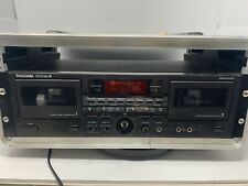 Tascam 202 MkIii Bi Directional Dual Deck Cassette Player Recorder In Rack Mw0