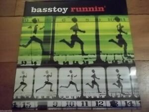 "BASSTOY FEATURING DANA - RUNNIN' - 12"" RECORD / VINYL - BLACK & BLUE - NEO12073"