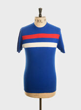 Art Gallery Clothing - Waffle Knit COBALT BLUE L Mod Sixties