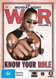 WWE - Monday Night War - Know Your Role - Vol 2 - 4-Disc Set - New Region 4 DVD