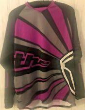 Tek Cycling Bike Shorts Rays Jersey Shirt Set Size Small Black Gray Pink