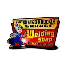 BNG Welding Shop Plasma Cut Metal Sign