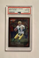 BRETT FAVRE, 2006 Bowman Chrome #163, PSA 10 Gem Mint, Green Bay Packers, Topps