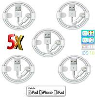 5x 100% für Original AppIe Ladekabel für iPhone 5 6 7 8 Plus X XS MAX XR 11 iPad