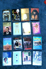16 Cassatte tapes~various artists~used in good condition~Shipped from Calif