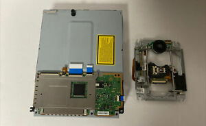 READ! PS3 A01 BLU RAY DRIVE & LOGIC BOARD AS IS PARTS REPAIR NEW LASER INSTALLED