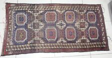 large old antique persian vintage rug carpet oriental wool hand knotted