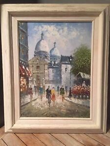 Caroline Burnett Original Signed Oil Painting
