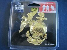 Marine Corps Mitchell Proffitt Solid Metal Auto Emblem - NEW in package
