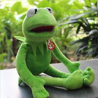 "Kermit Sesame Street Muppets Kermit the Frog Toy plush 15"""
