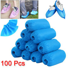 Disposable Shoe Thick 100 Pcs Boot CoversOvershoes Floor Protectors Waterproof