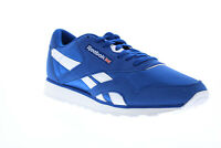 Reebok Classic Nylon Color EG2733 Mens Blue Lace Up Lifestyle Sneakers Shoes