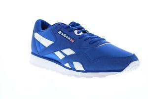 Reebok Classic Nylon Color EG2733 Mens Blue Lace Up Lifestyle Sneakers Shoes 7