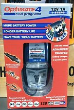 OPTIMATE 4 DUAL PROGRAM BATTERY CHARGER 12V 1A