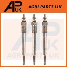 3 X Iseki TA207 TA210 TA215 TA227 TA230 TA235 Compact Tractor Heater glow plugs