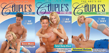 (3) ABCs of Couple's Fitness: BASIC MOVES ADVANCED MOTIONS TOTAL BODY BLAST lot