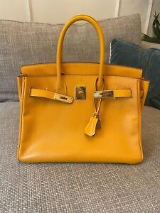 Hermes Birkin 25cm Yellow Colour