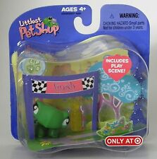 Littlest Pet Shop Target exclusive retired#316 turtle with finish line playscene