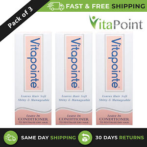 Vitapointe New Formula Conditioner To Revitalise Dry & Dull Hair 30ml/ Pack Of 3