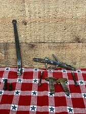 Black Powder Gun Trigger and Cocking Lever Assembly & Bolt Stock Hardware